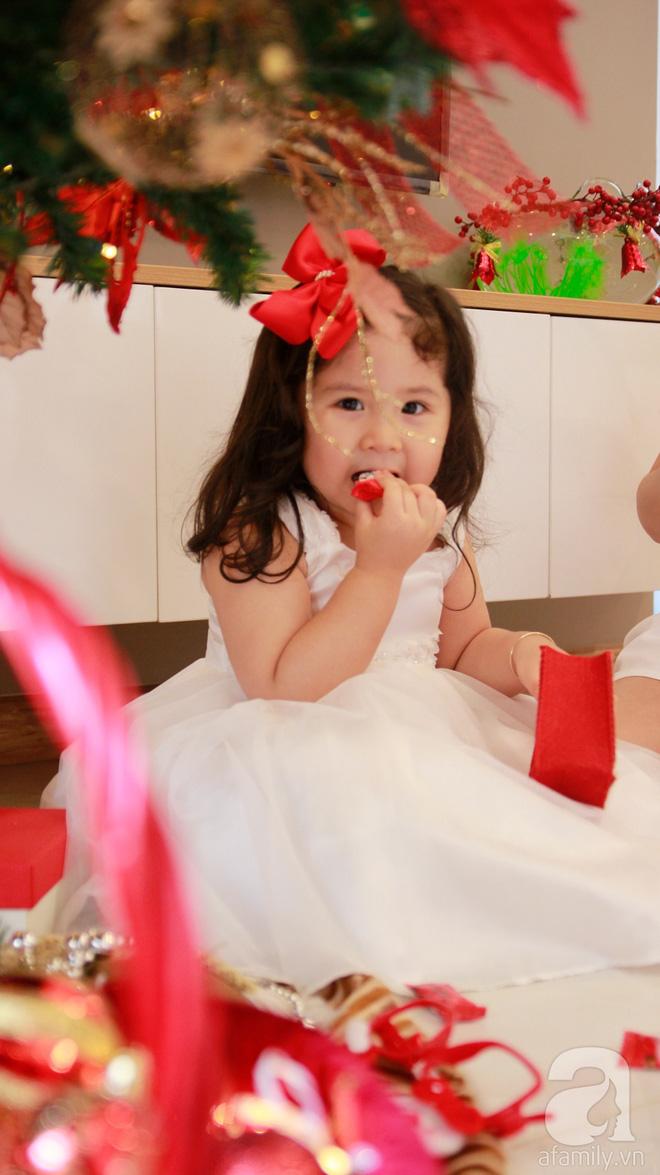 Căn hộ được trang trí Noel đẹp lung linh, món quà của người mẹ tặng con gái ở Q7, Sài Gòn - Ảnh 20.
